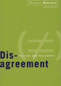Dis-agreement: Politics and philosophy