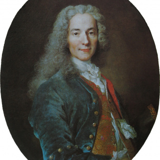 François-Marie Arouet known as Voltaire 伏爾泰