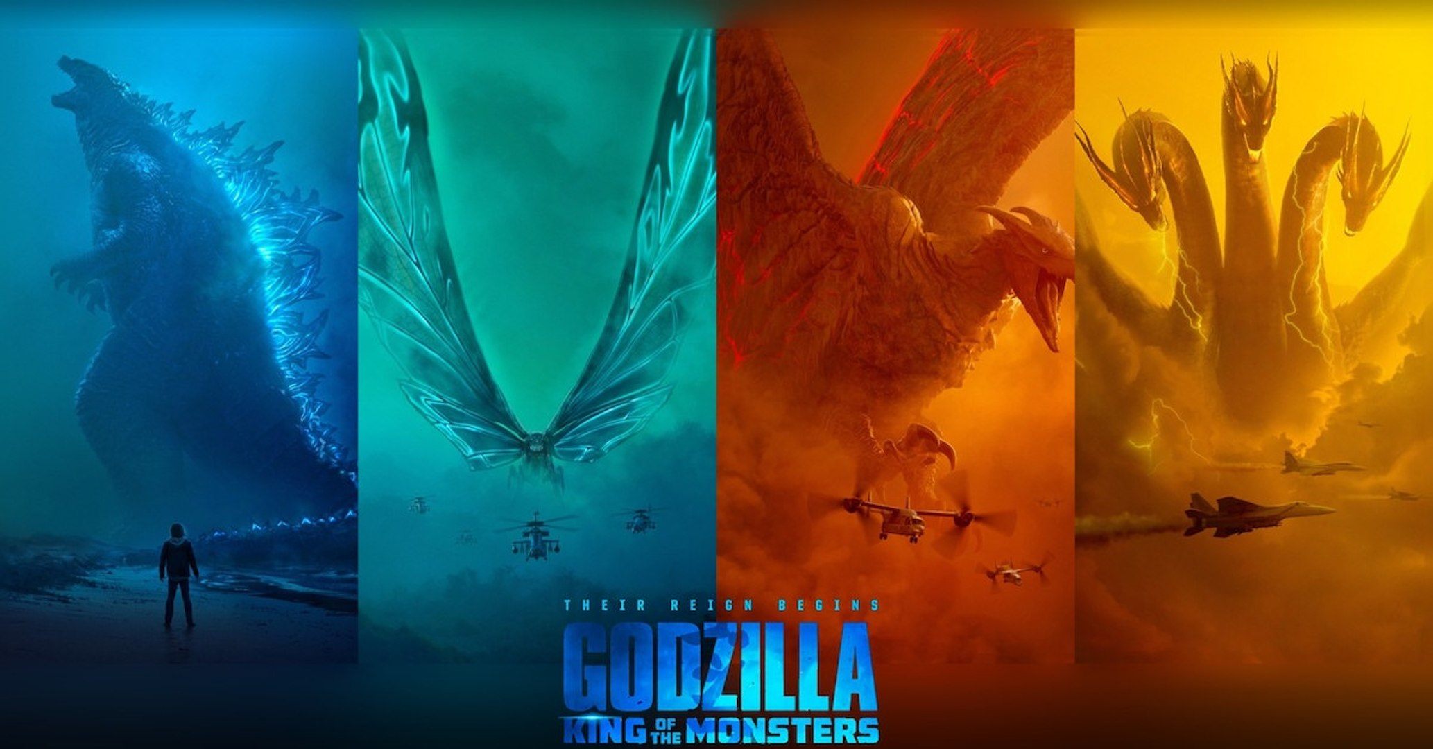 Godzilla II: King of the Monsters Wallpaper.